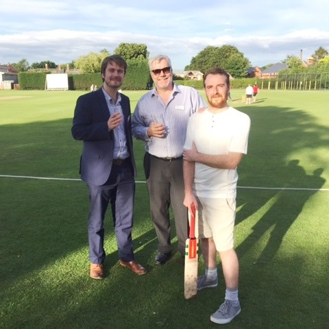Dan James David cricket