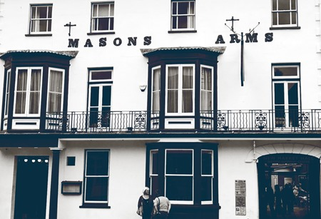 Masons Arms homepage image